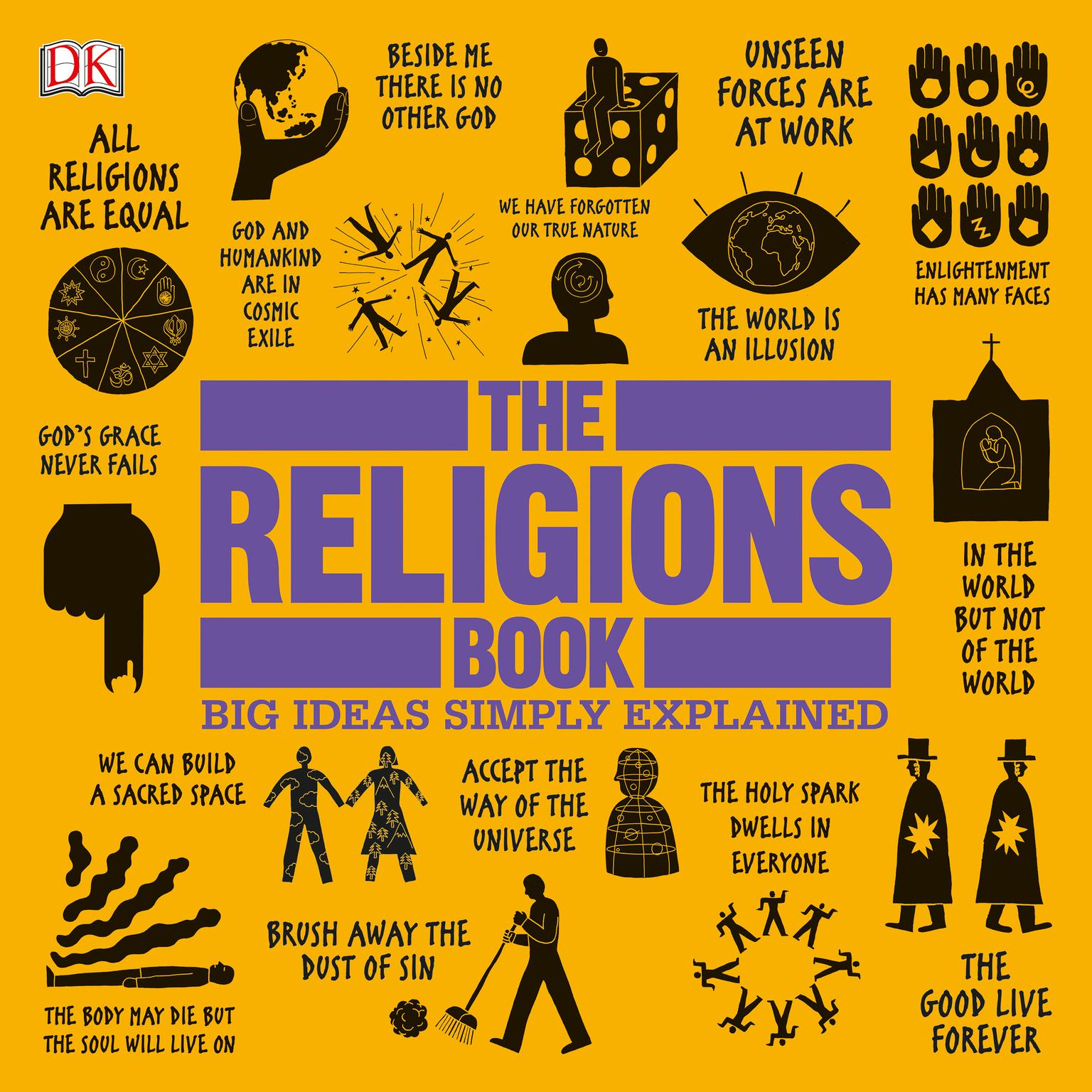 Printable The Religions Book: Big Ideas Simply Explained Audiobook Cover Art