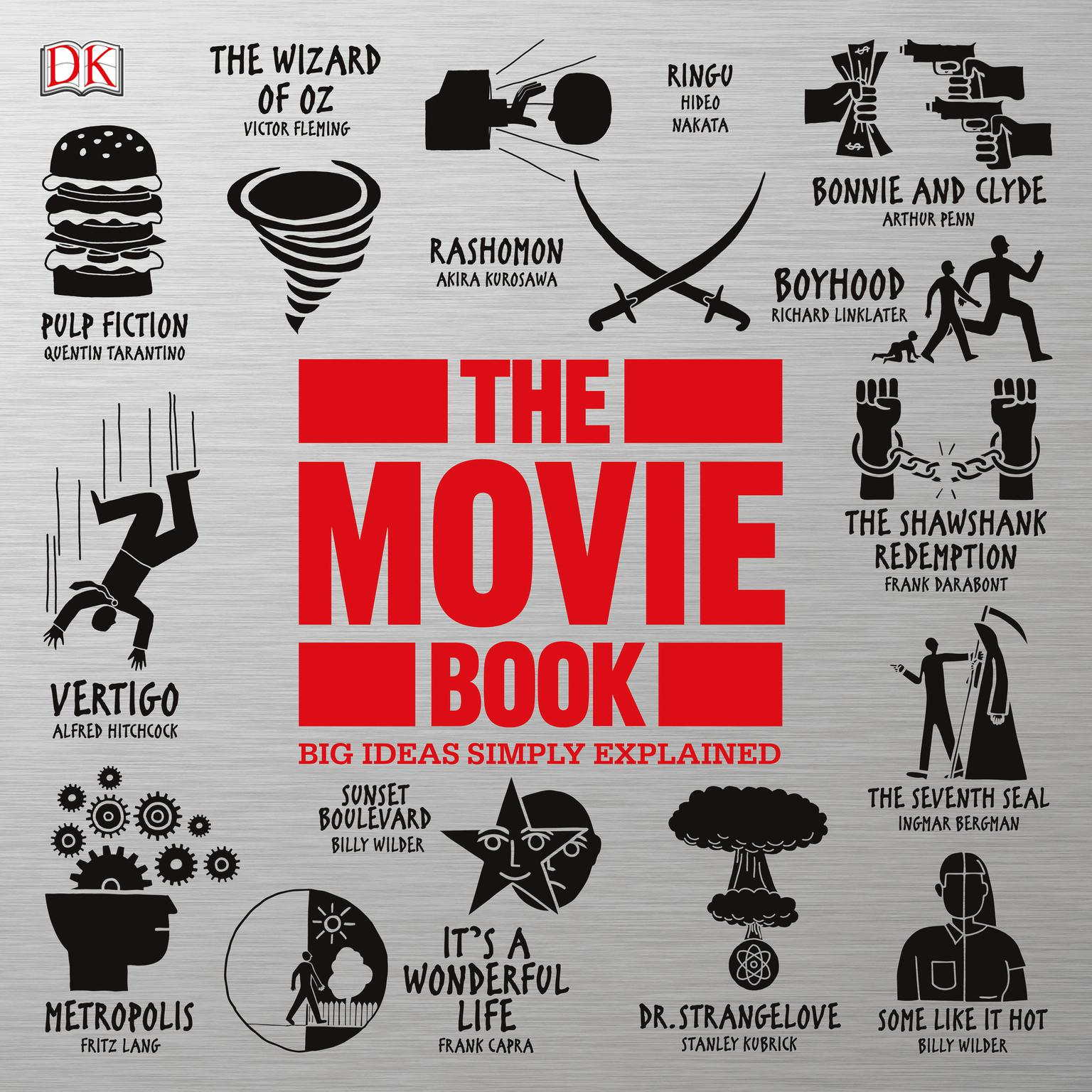 Printable The Movie Book: Big Ideas Simply Explained Audiobook Cover Art