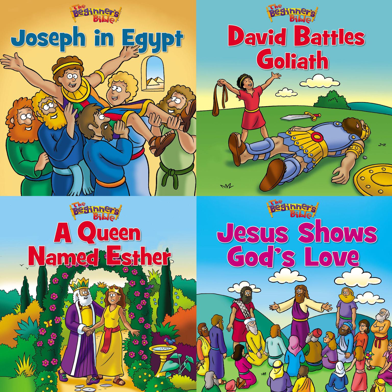 Printable The Beginner's Bible Children's Collection Audiobook Cover Art