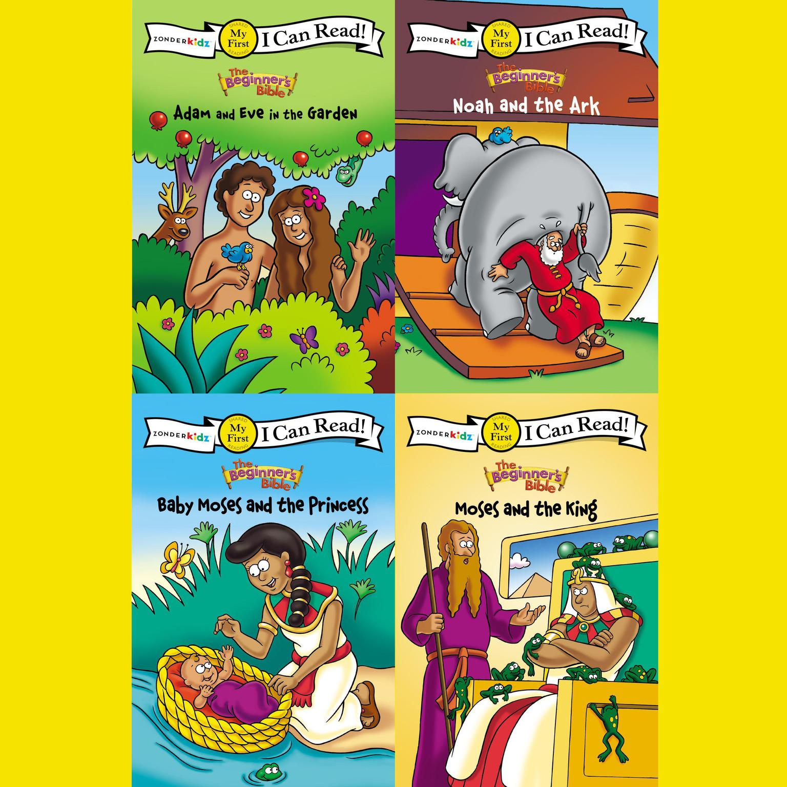 Printable The Beginner's Bible: I Can Read Old Testament Collection 1: My First Audiobook Cover Art
