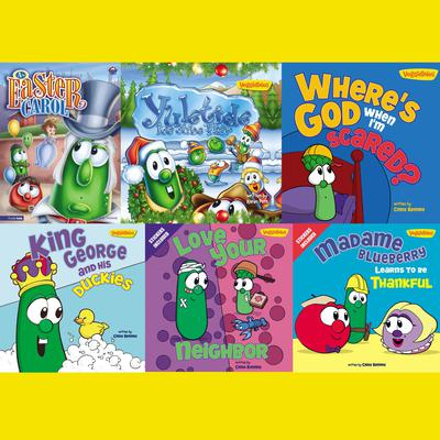 VeggieTales Childrens Book Collection Audiobook, by Cindy Kenney