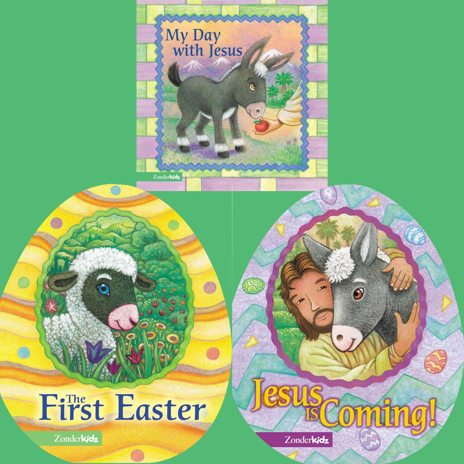 Printable Easter for Little Ones Audiobook Cover Art