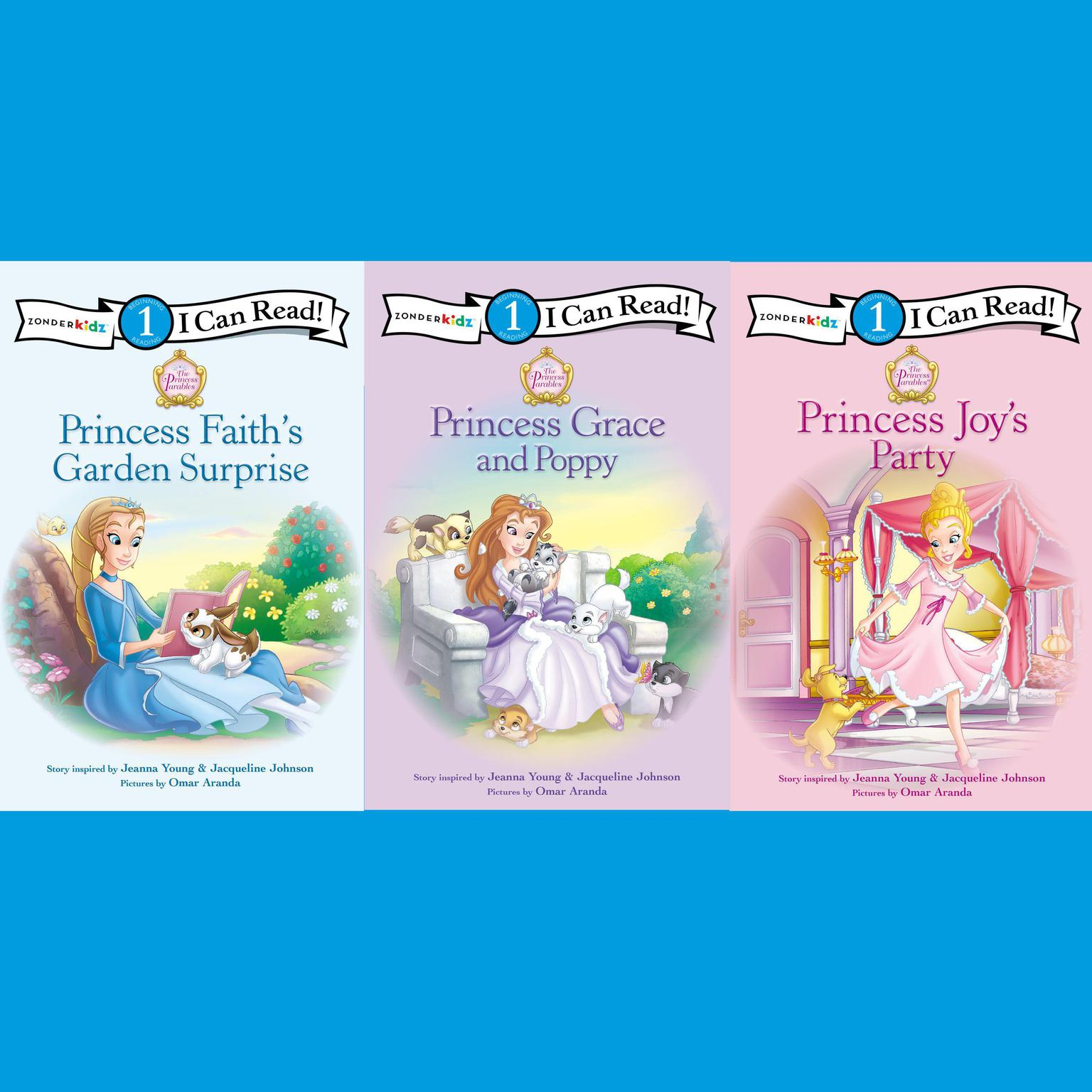 Printable The Princess Parables Collection: Level 1 Audiobook Cover Art