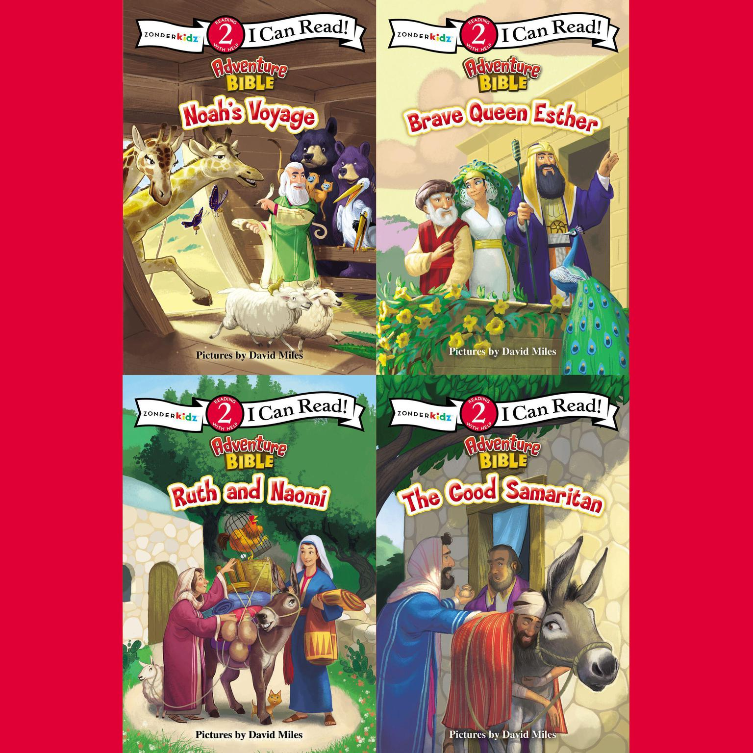 Printable Adventure Bible I Can Read Collection: Level 2 Audiobook Cover Art