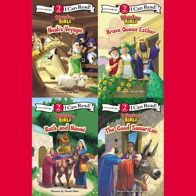 Adventure Bible I Can Read Collection: Level 2 Audiobook, by Zondervan