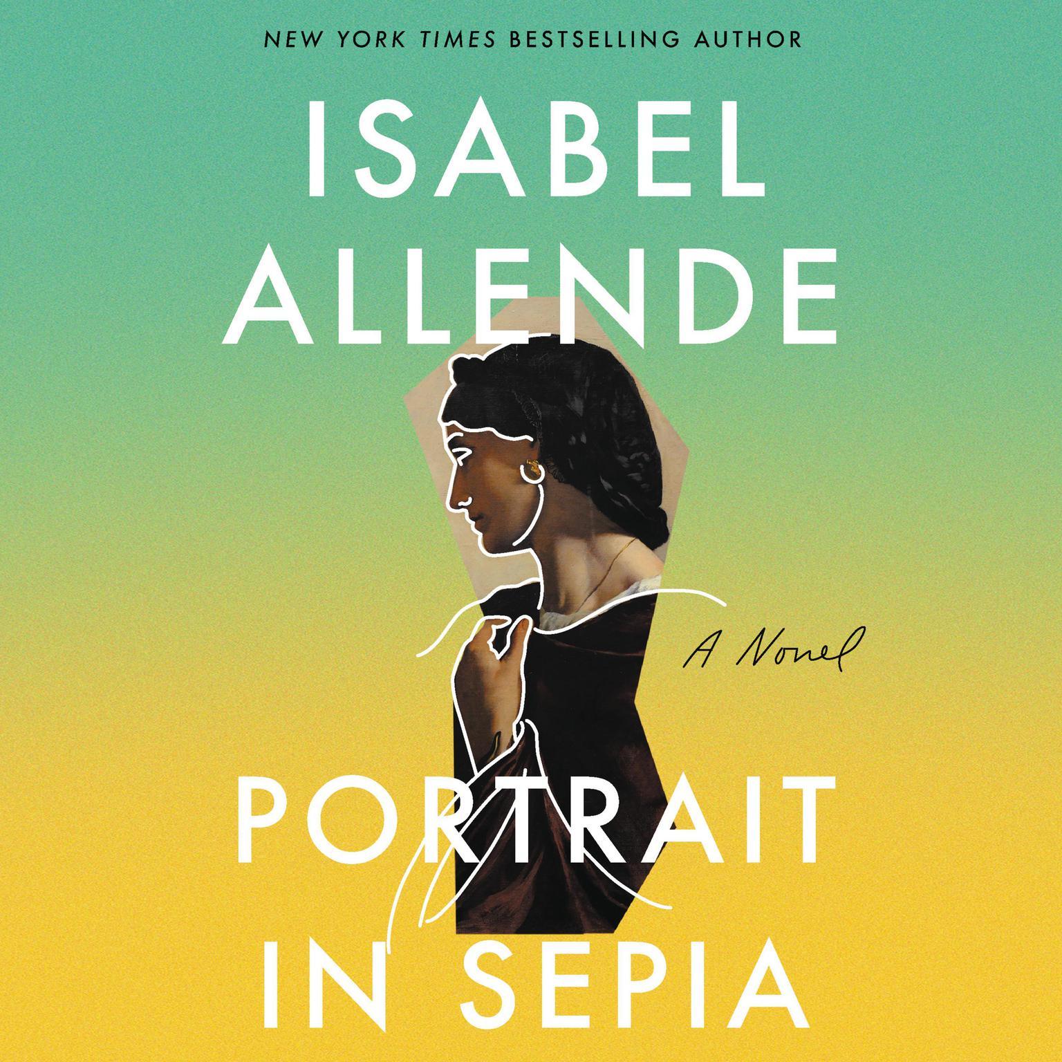 Printable Portrait in Sepia: A Novel Audiobook Cover Art