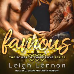 Famous Audiobook, by Leigh Lennon