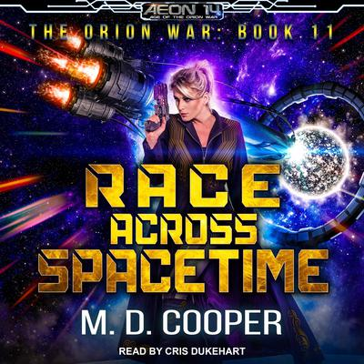 Race Across Spacetime Audiobook, by