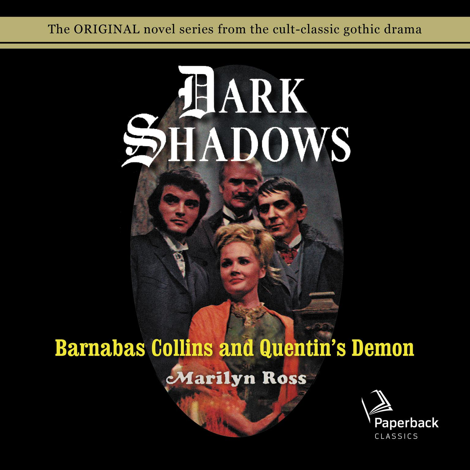 Printable Barnabas Collins and Quentin's Demon Audiobook Cover Art
