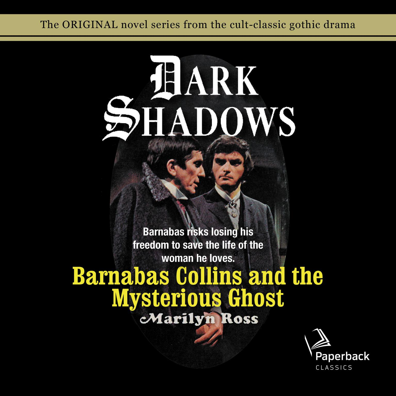 Printable Barnabas Collins and the Mysterious Ghost Audiobook Cover Art