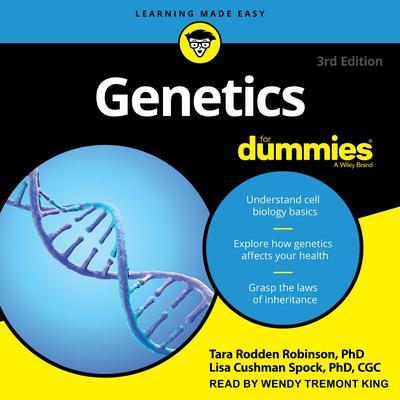 Genetics For Dummies: 3rd Edition Audiobook, by Tara Rodden Robinson