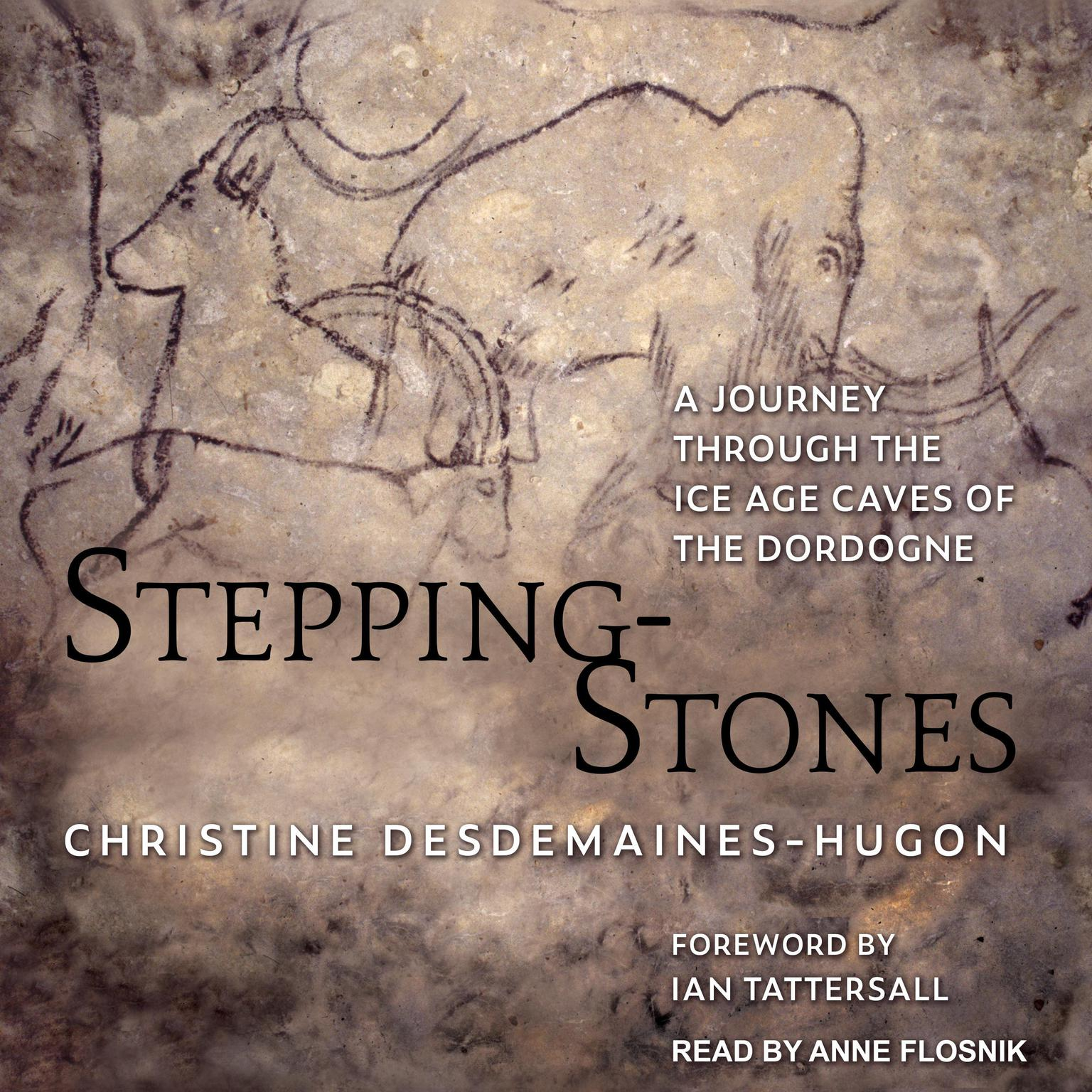 Printable Stepping-Stones: A Journey through the Ice Age Caves of the Dordogne Audiobook Cover Art