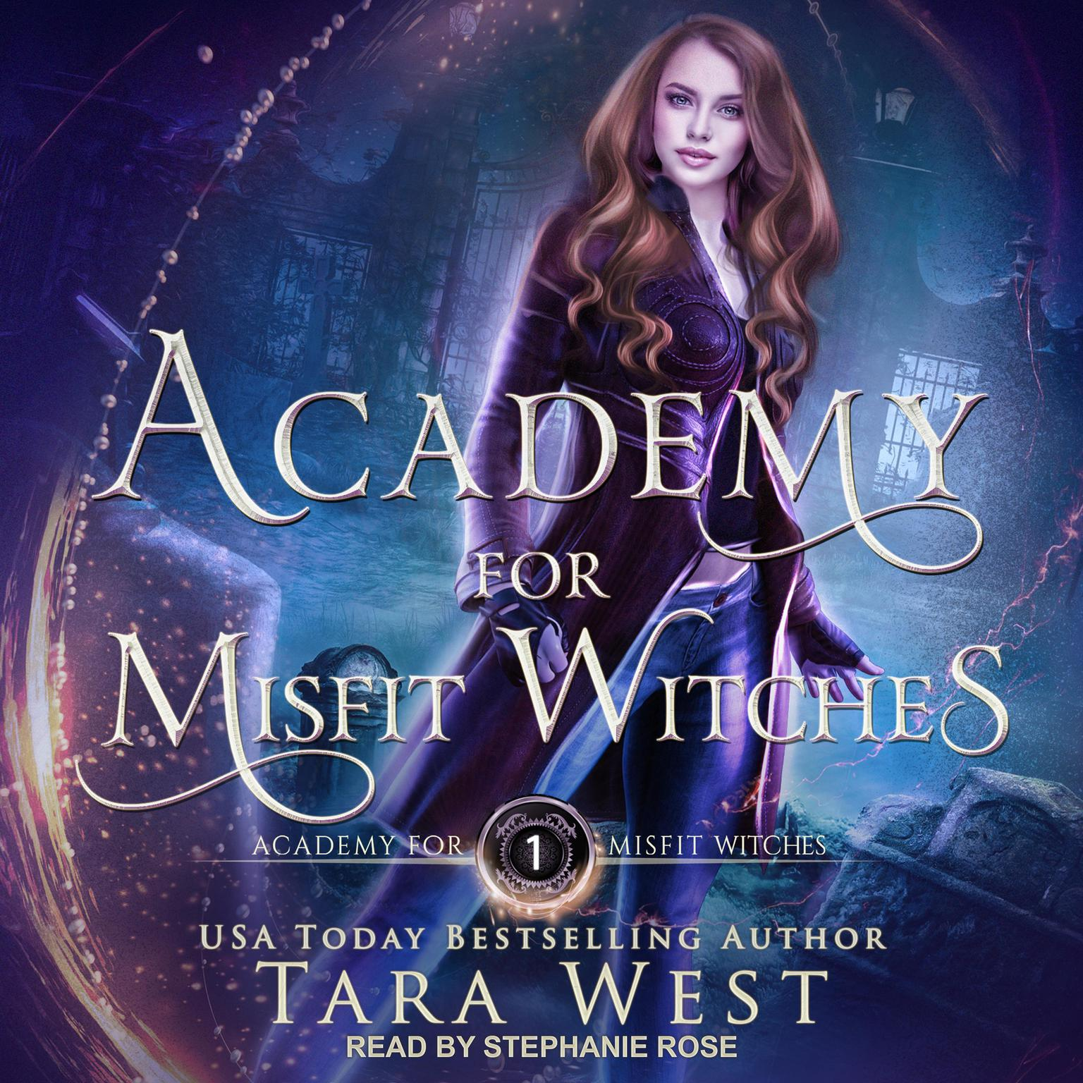 Printable Academy for Misfit Witches Audiobook Cover Art