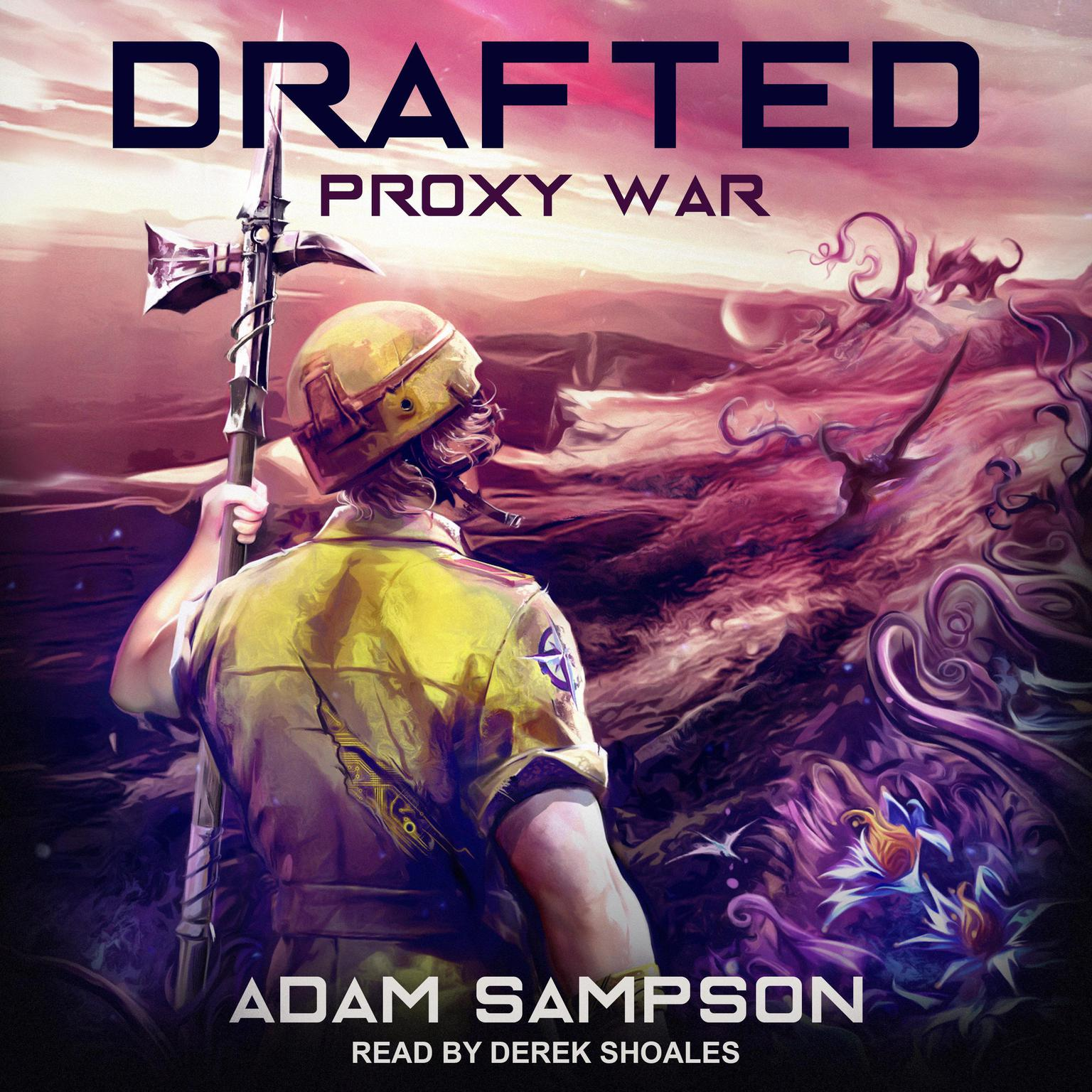 Printable Drafted: Proxy War Audiobook Cover Art