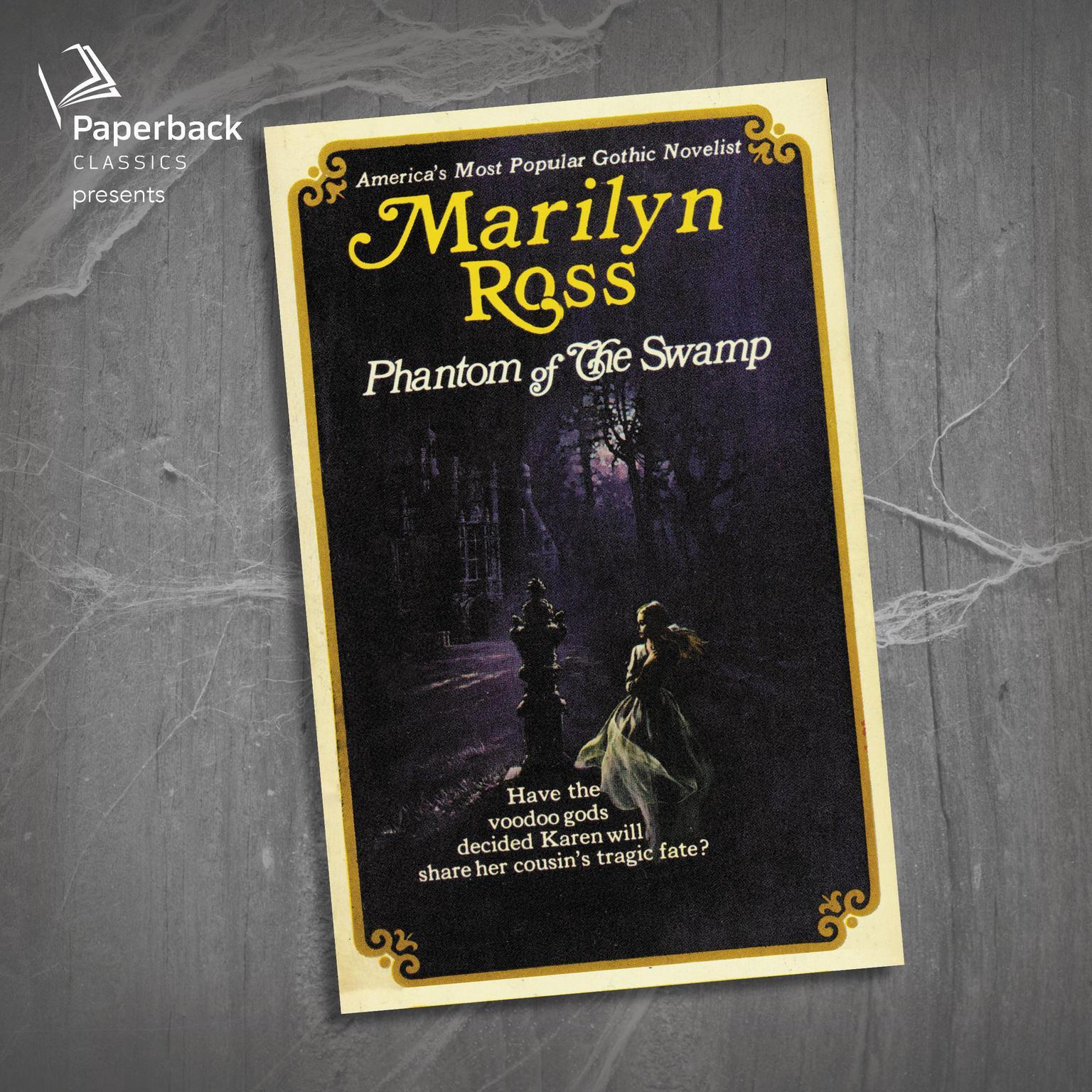 Printable Phantom of the Swamp Audiobook Cover Art