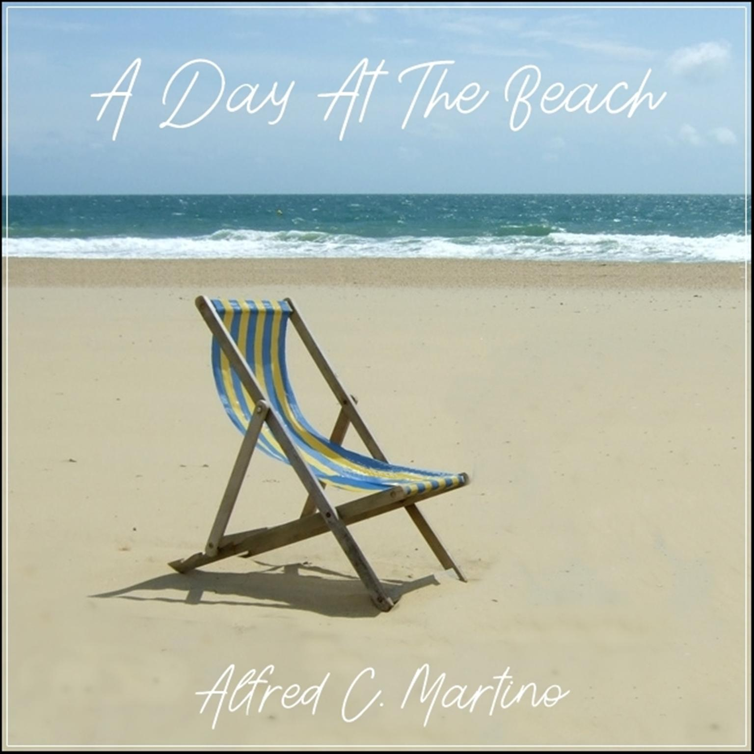 Printable A Day At The Beach Audiobook Cover Art