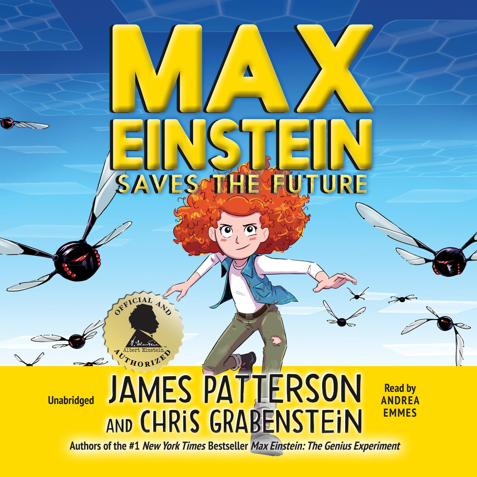 Printable Max Einstein: Saves the Future Audiobook Cover Art