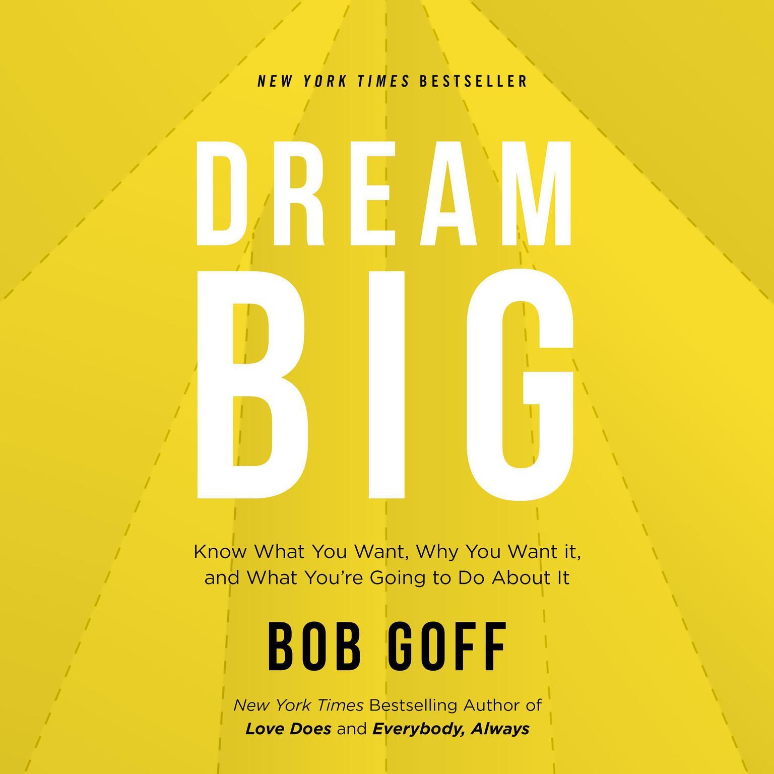 Printable Dream Big Audiobook Cover Art