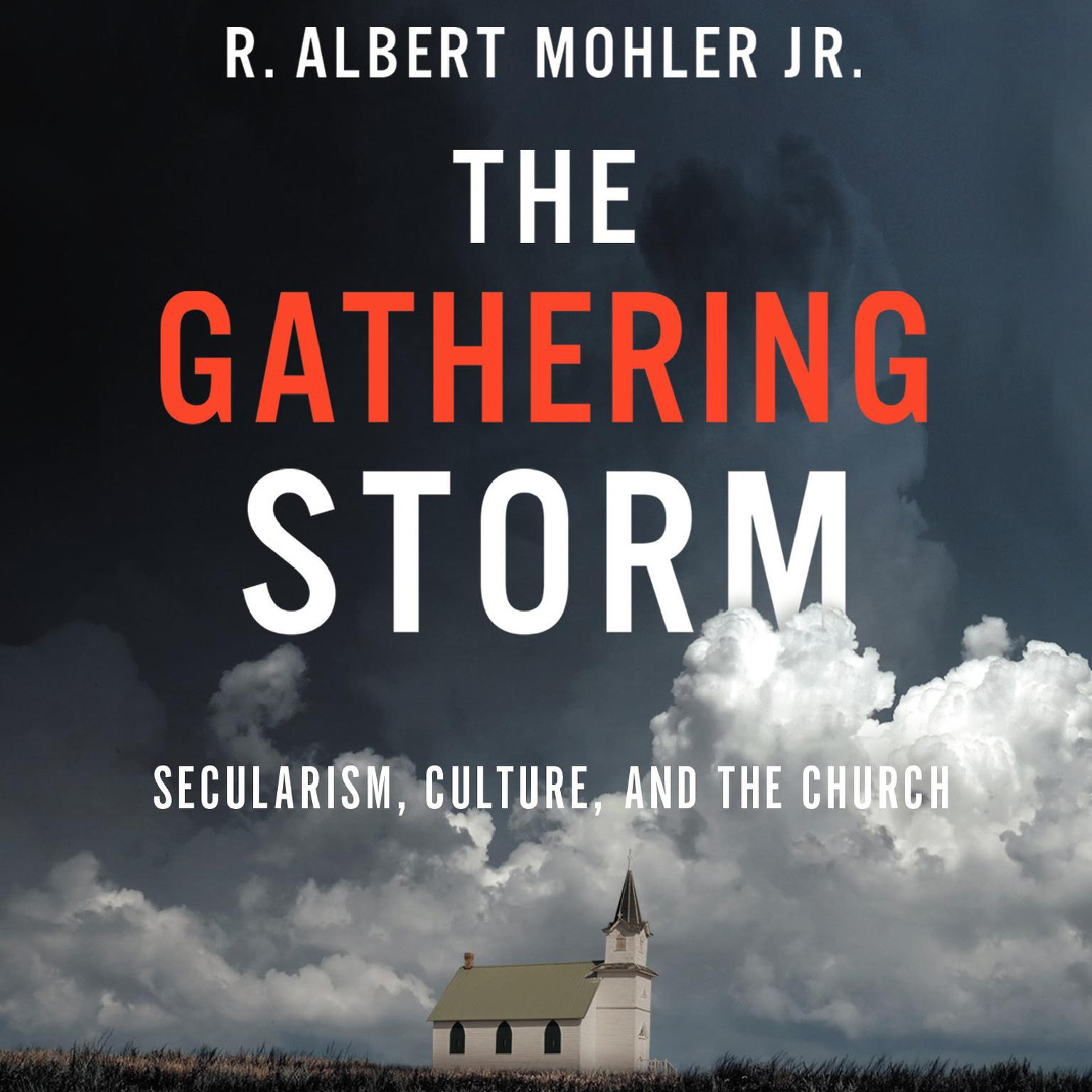 Printable The Gathering Storm: Secularism, Culture, and the Church Audiobook Cover Art