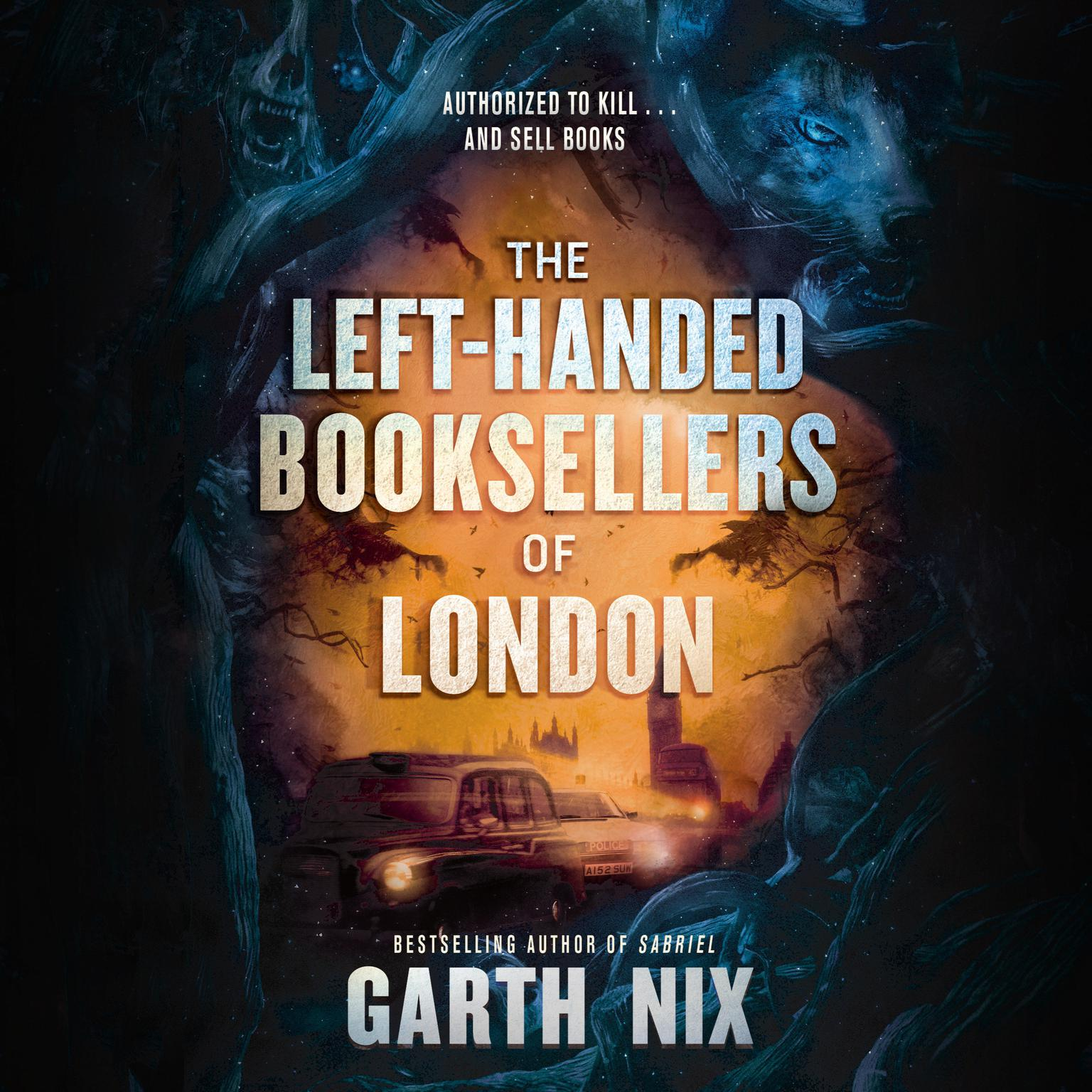 The Left-Handed Booksellers of London Audiobook, by Garth Nix