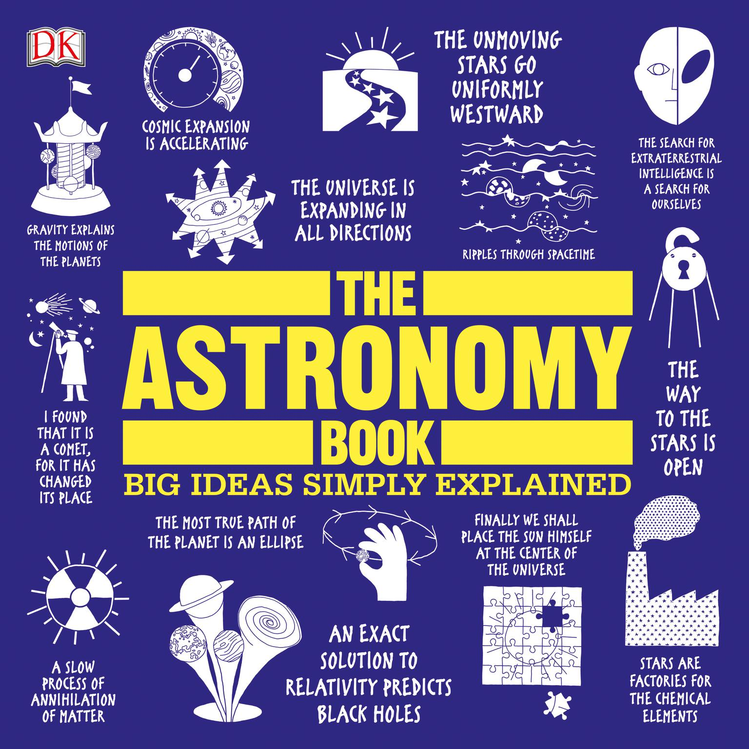 Printable The Astronomy Book: Big Ideas Simply Explained Audiobook Cover Art