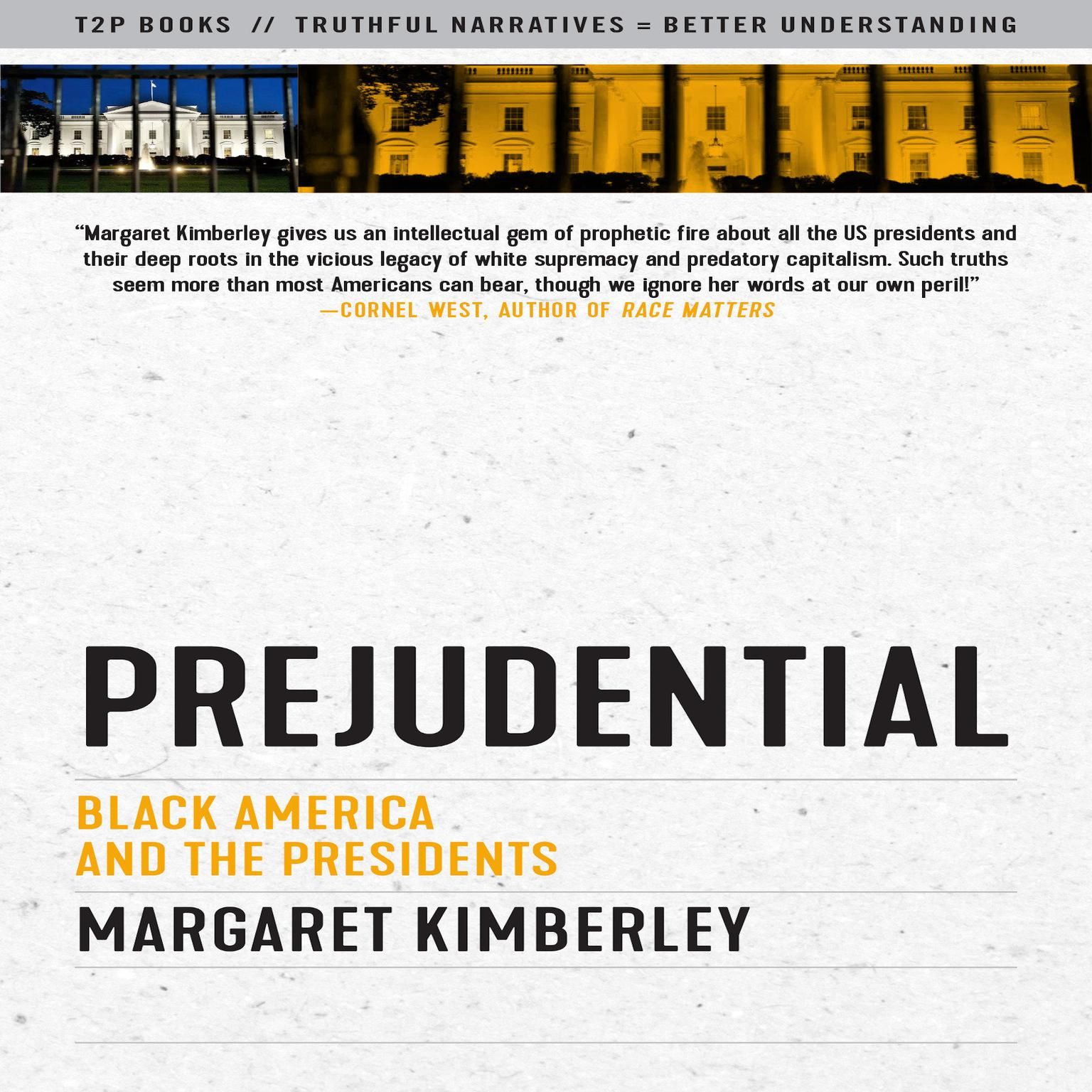 Printable Prejudential: Black America and the Presidents Audiobook Cover Art