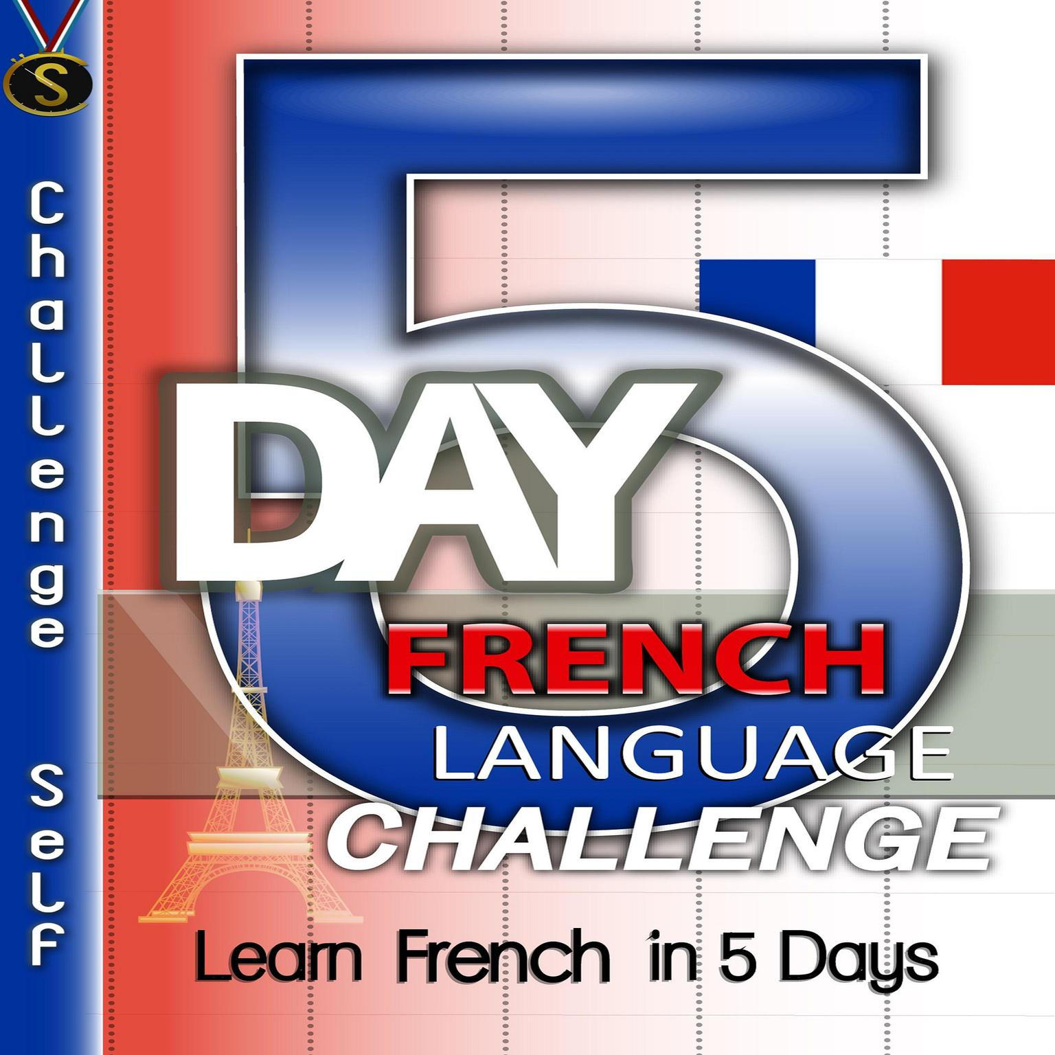 Printable 5-Day French Language Challenge Audiobook Cover Art