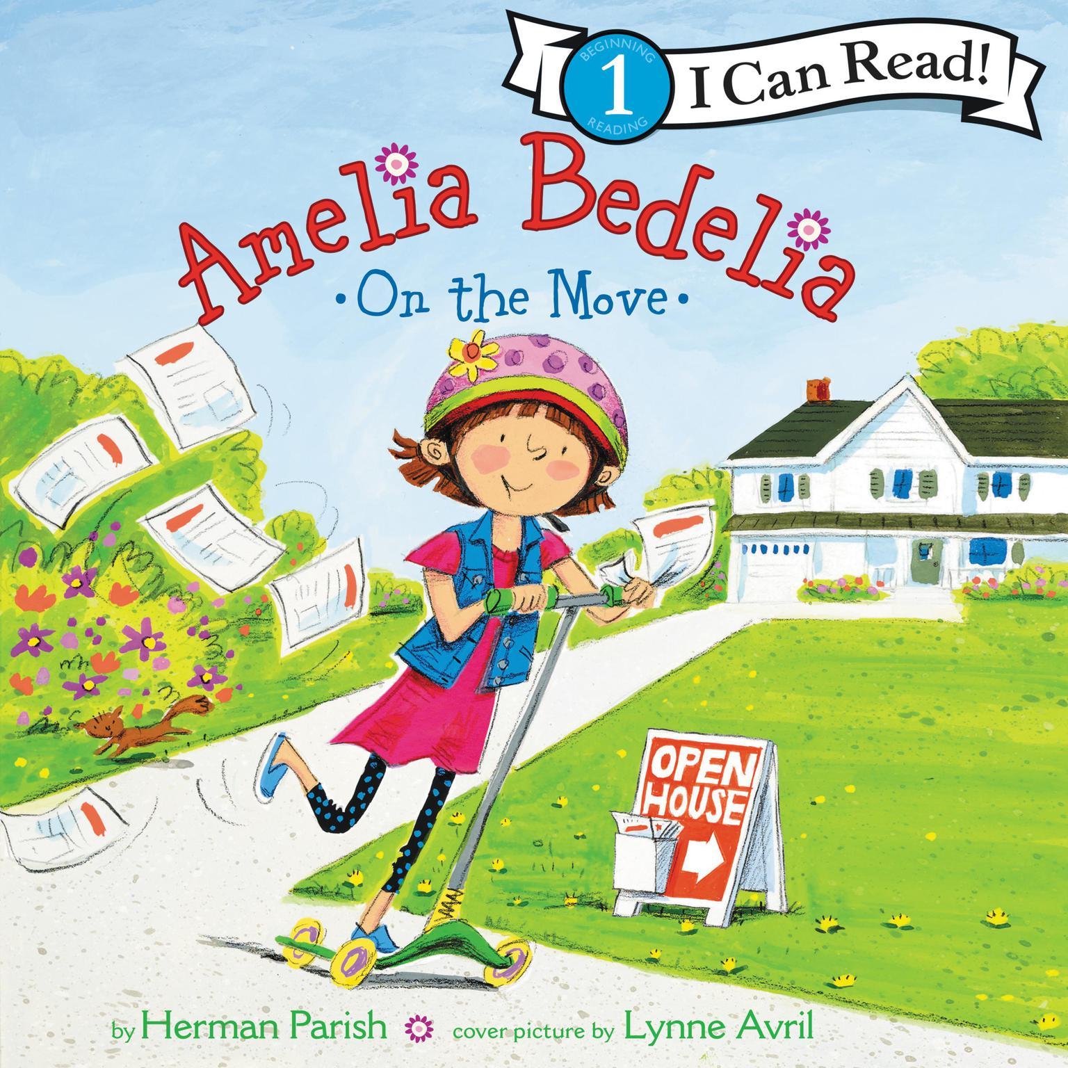 Amelia Bedelia on the Move Audiobook, by Herman Parish