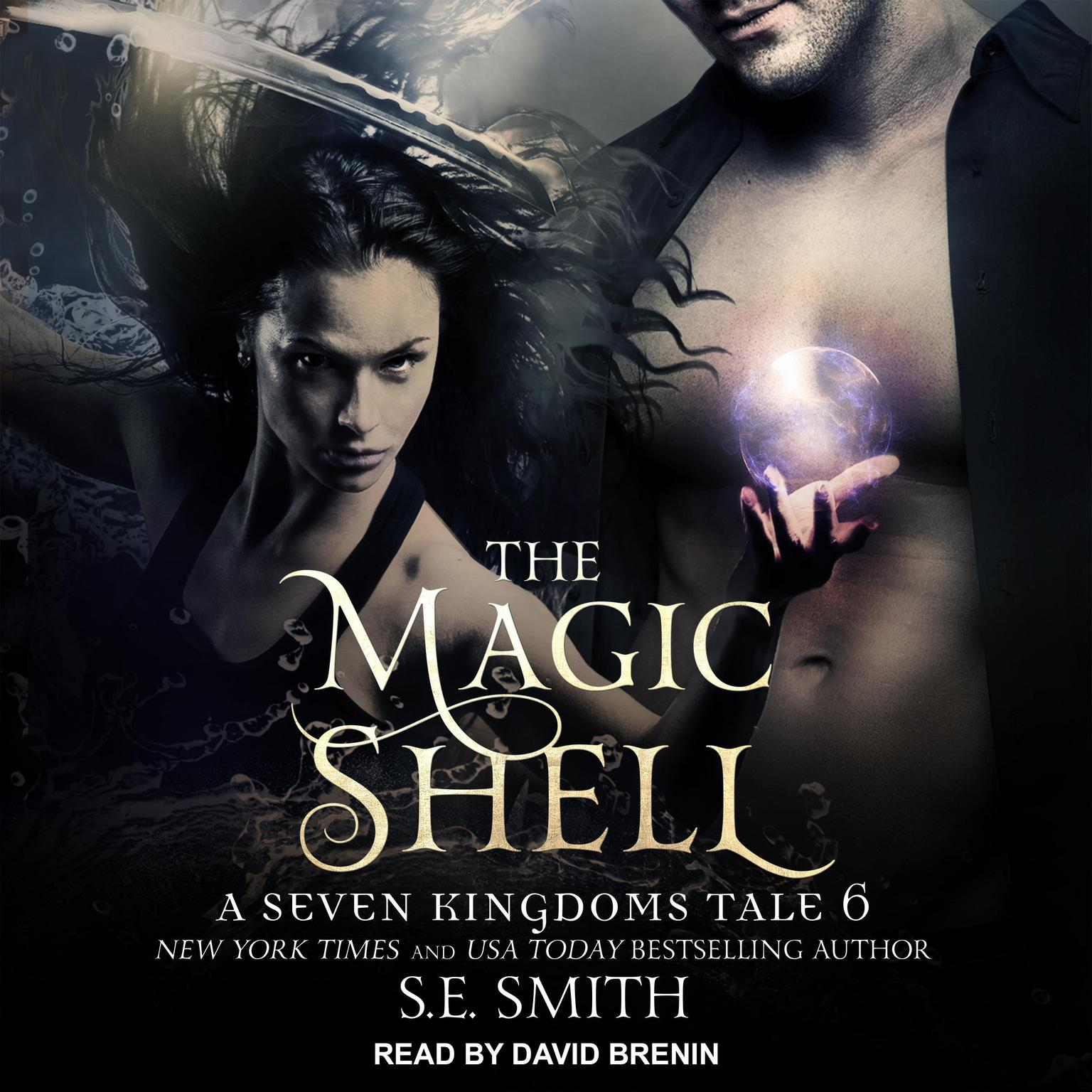 Printable The Magic Shell: A Seven Kingdoms Tale 6 Audiobook Cover Art
