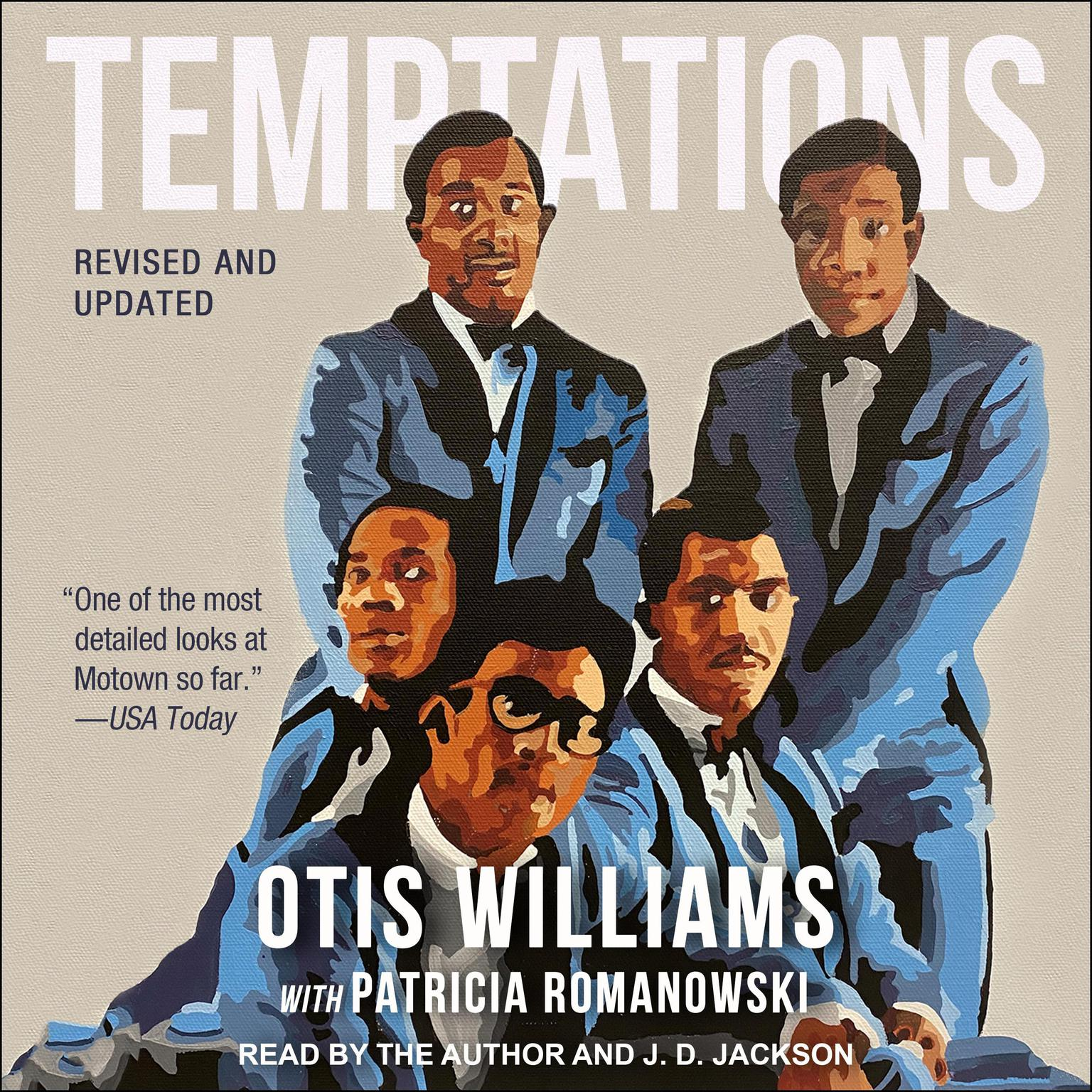 Printable Temptations: Revised and Updated Audiobook Cover Art