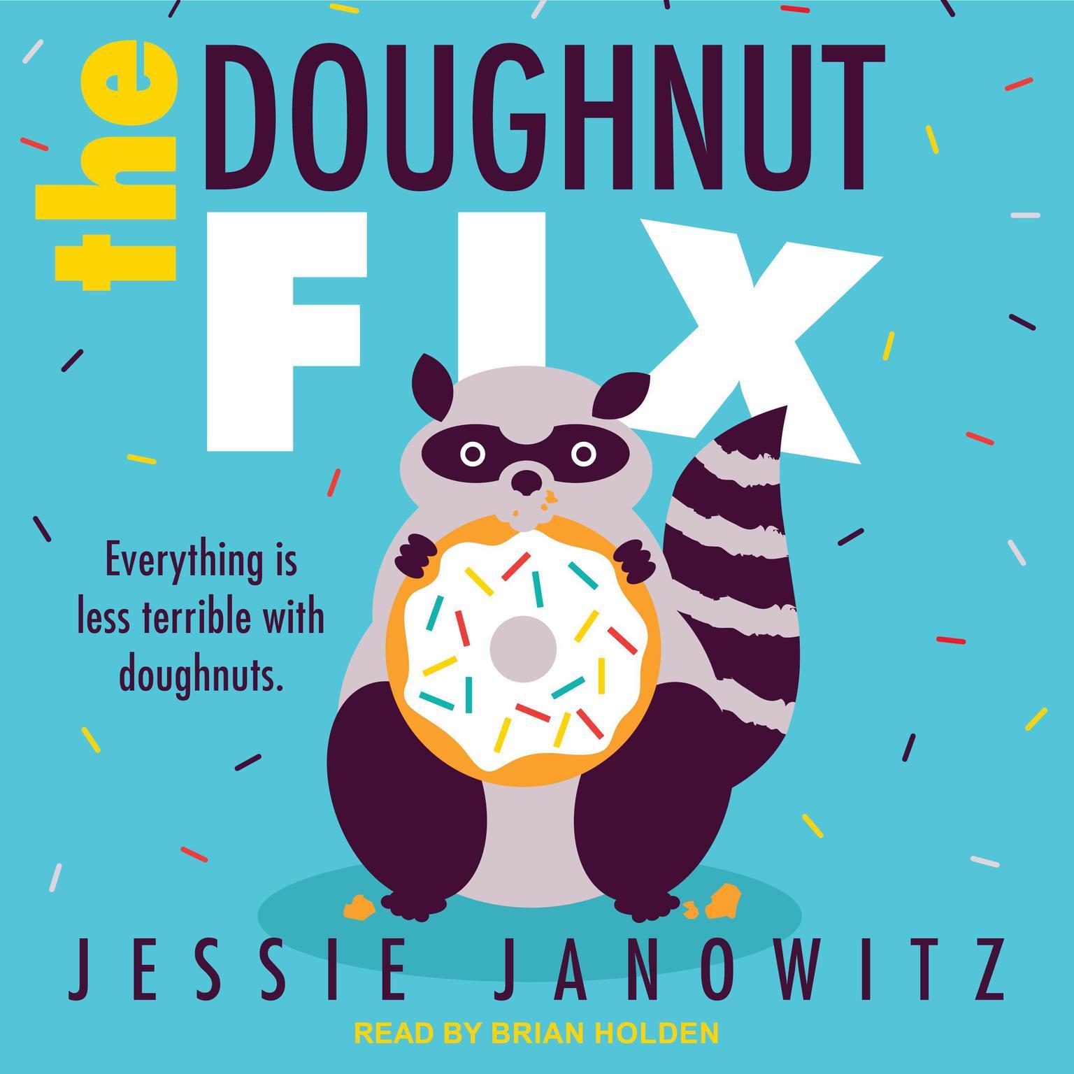 Printable The Doughnut Fix Audiobook Cover Art
