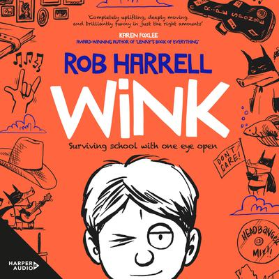 Wink Audiobook, by Rob Harrell