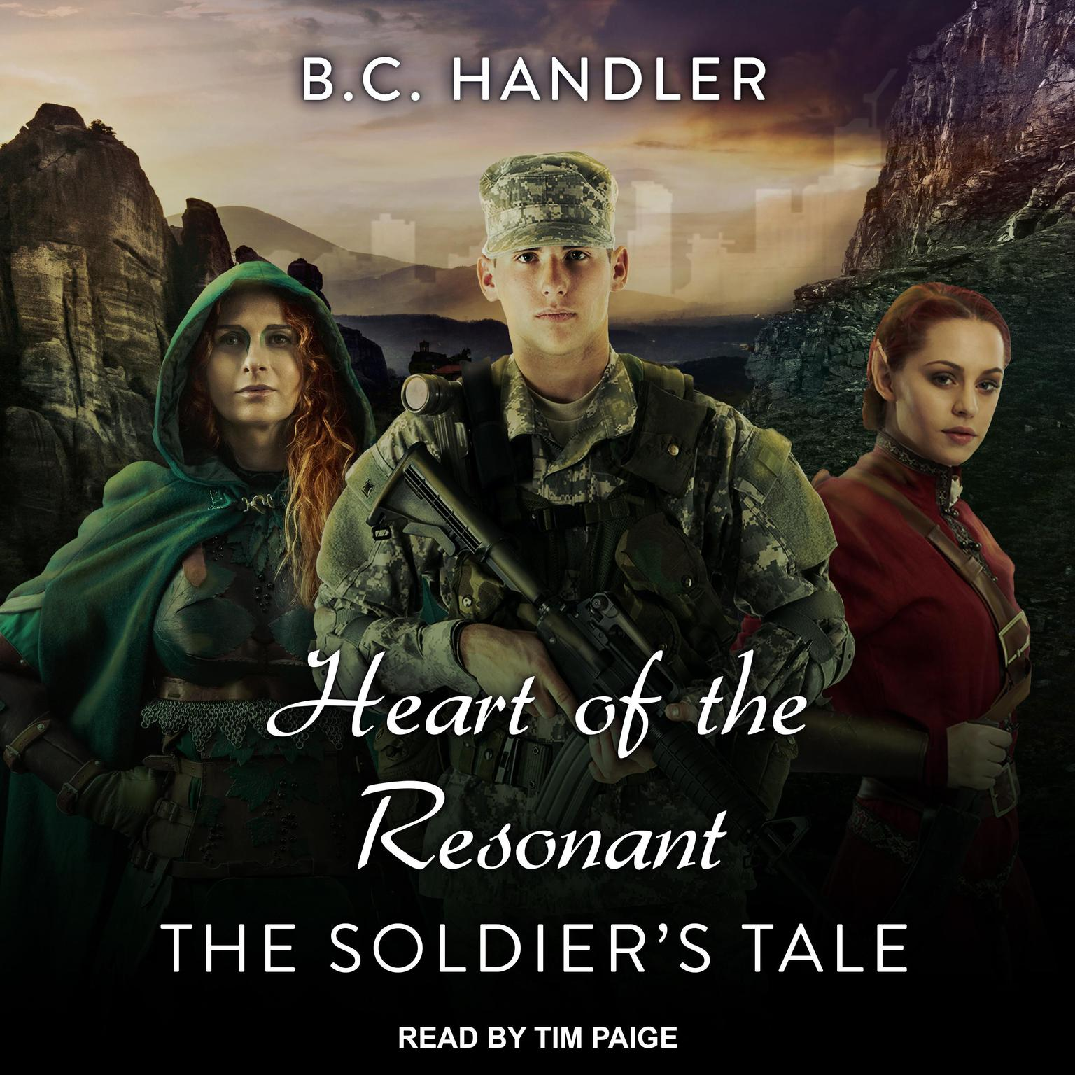 Printable Heart of the Resonant: The Soldier's Tale Audiobook Cover Art