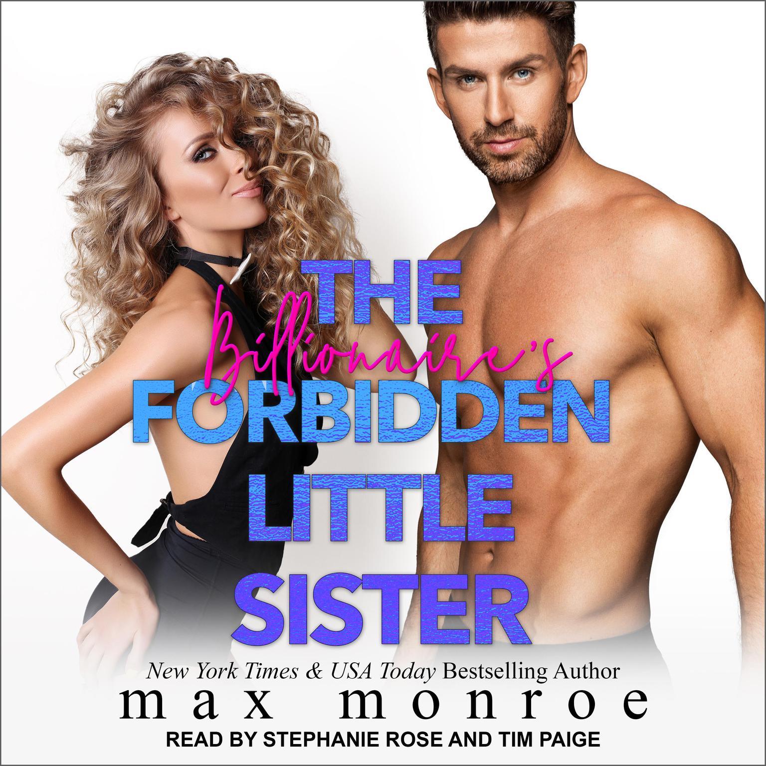 Printable The Billionaire's Forbidden Little Sister Audiobook Cover Art