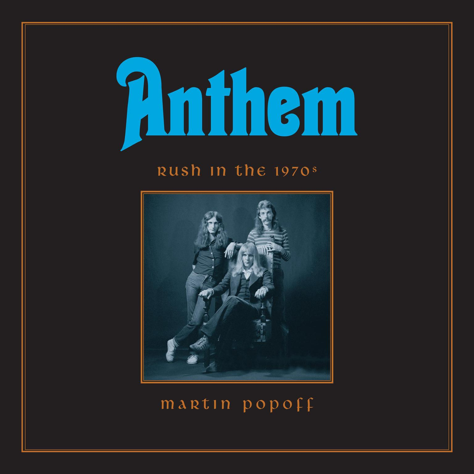 Printable Anthem: Rush in the 1970s Audiobook Cover Art