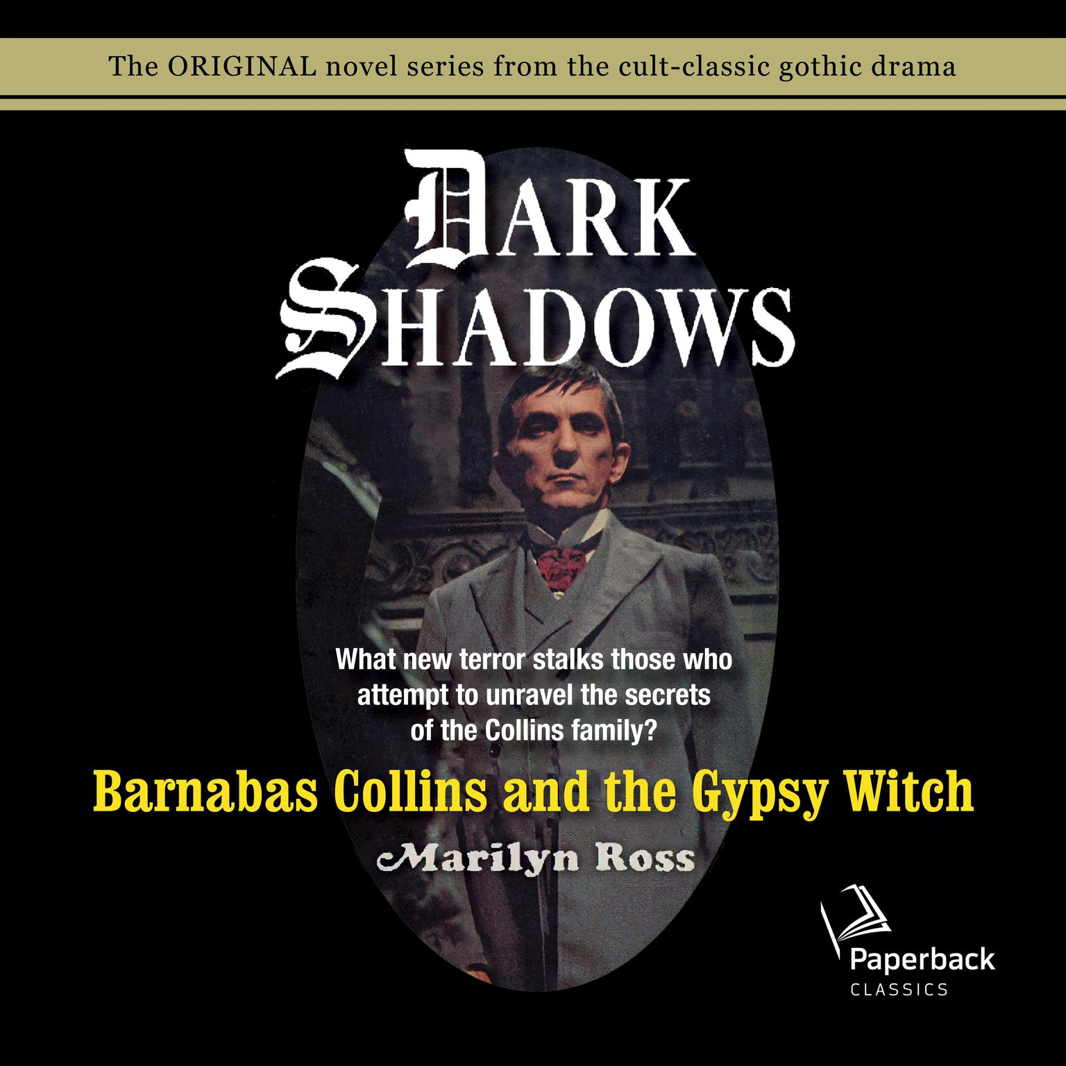 Printable Barnabas Collins and the Gypsy Witch Audiobook Cover Art