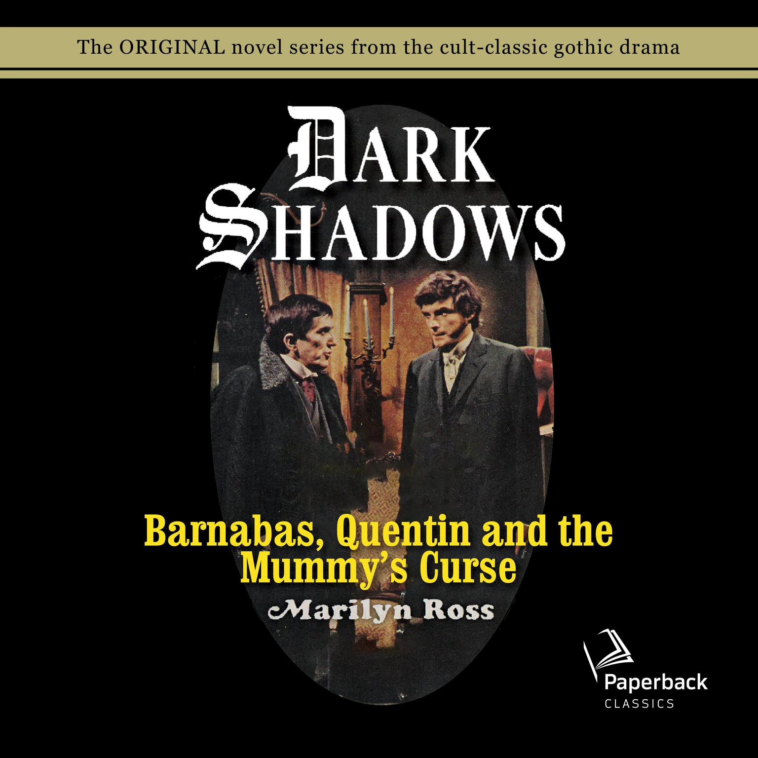 Printable Barnabas, Quentin and the Mummy's Curse Audiobook Cover Art