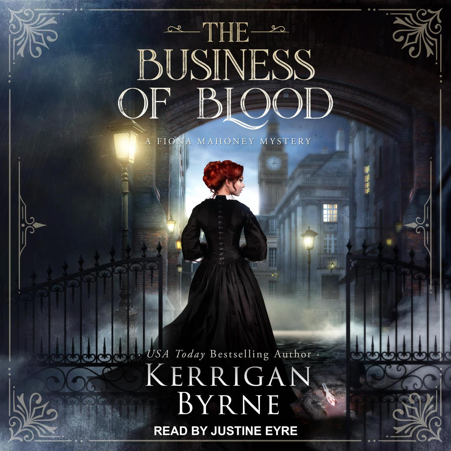 Printable The Business of Blood Audiobook Cover Art