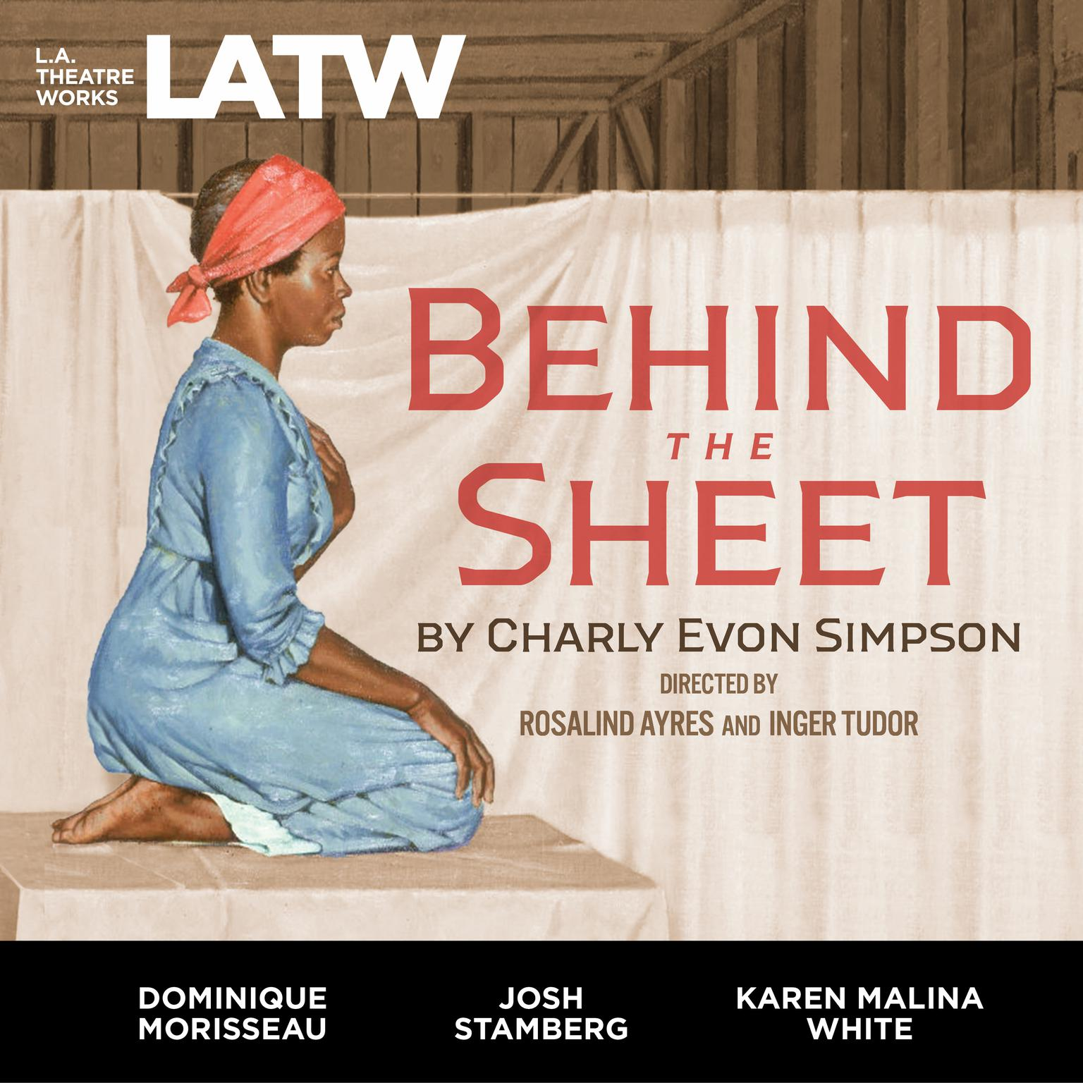 Printable Behind the Sheet Audiobook Cover Art