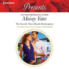The Greeks Nine-Month Redemption Audiobook, by Maisey Yates