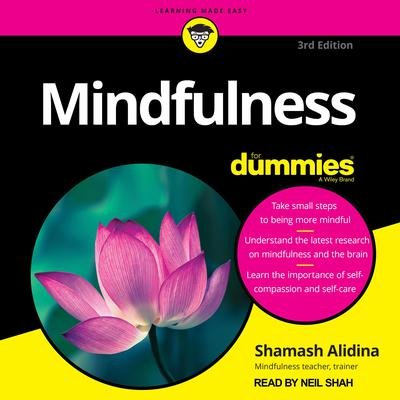 Mindfulness For Dummies: 3rd Edition Audiobook, by Shamash Alidina