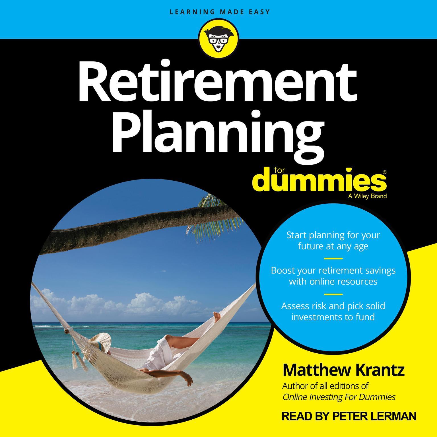 Retirement Planning For Dummies Audiobook, by Matthew Krantz