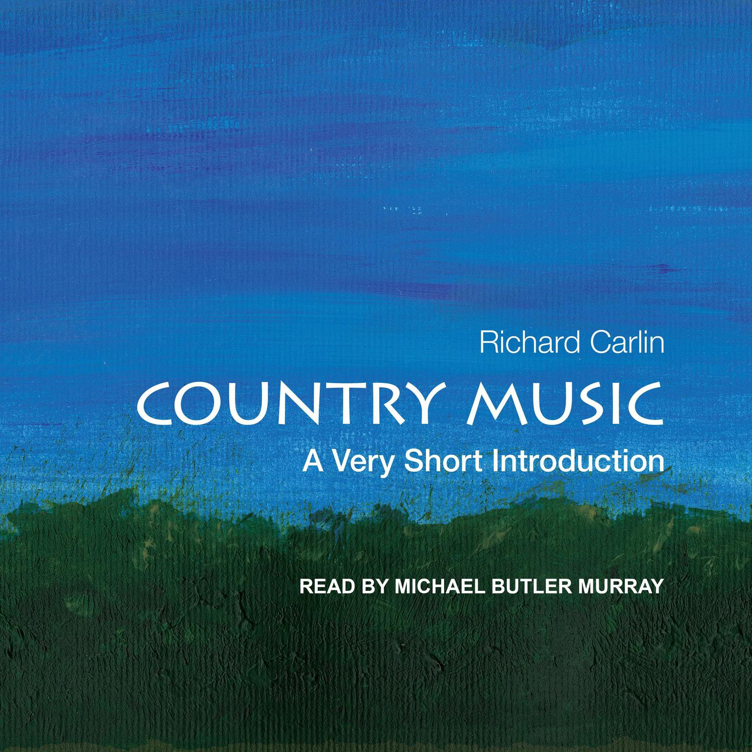 Printable Country Music: A Very Short Introduction Audiobook Cover Art