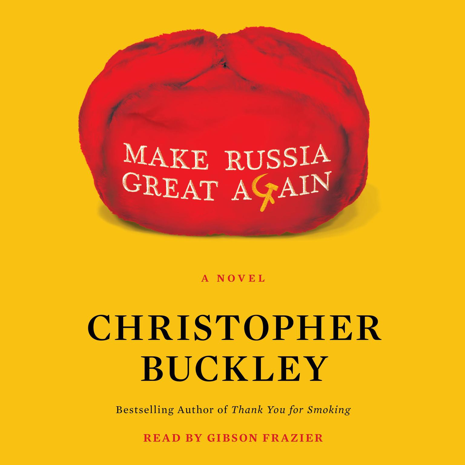 Printable Make Russia Great Again: A Novel Audiobook Cover Art