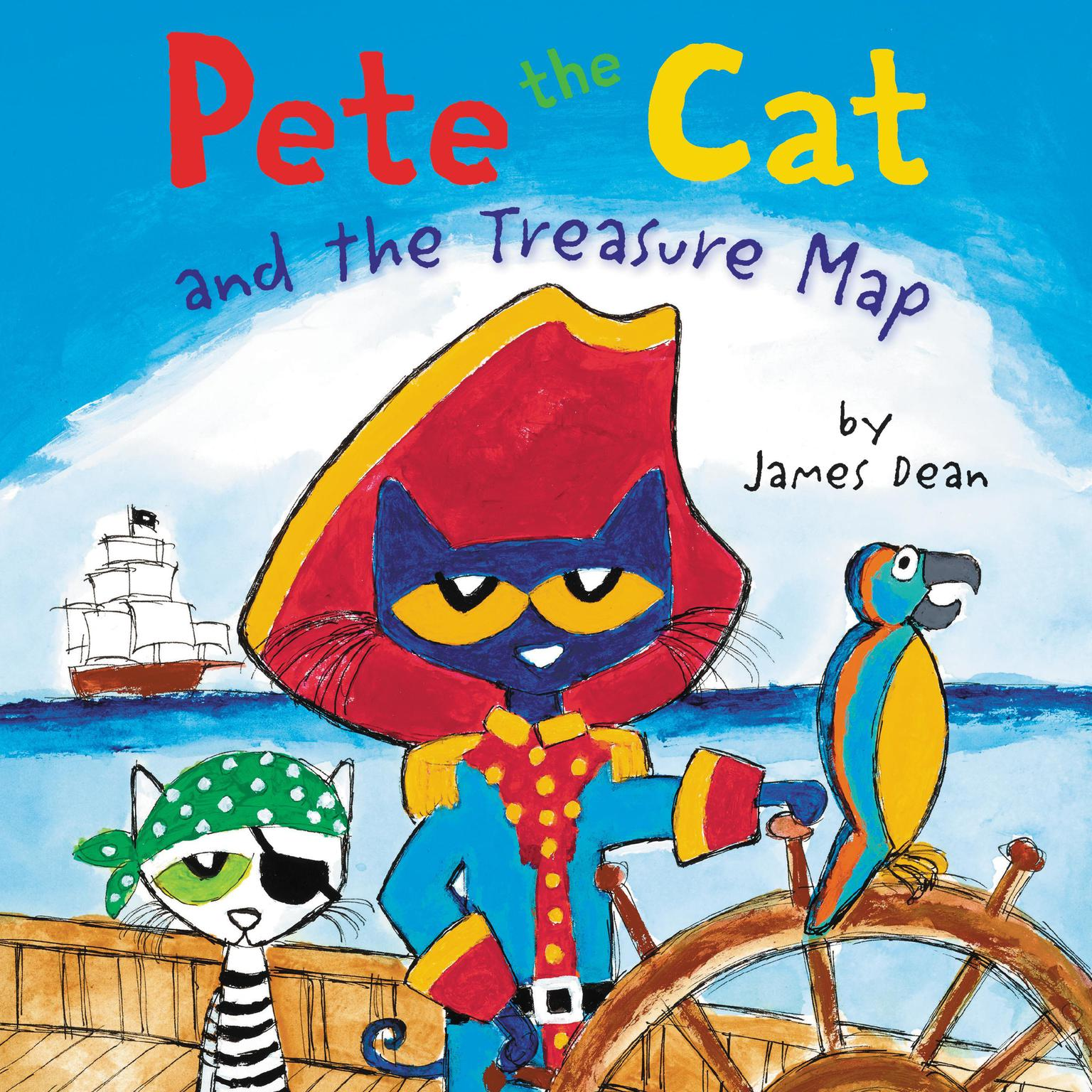 Pete the Cat and the Treasure Map Audiobook, by James Dean
