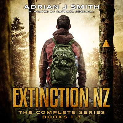 The Extinction New Zealand Series Box Set: The Rule of Three, The Fourth Phase, The Five Pillars Audiobook, by Adrian J. Smith