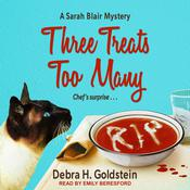 Three Treats Too Many Audiobook, by Debra H. Goldstein