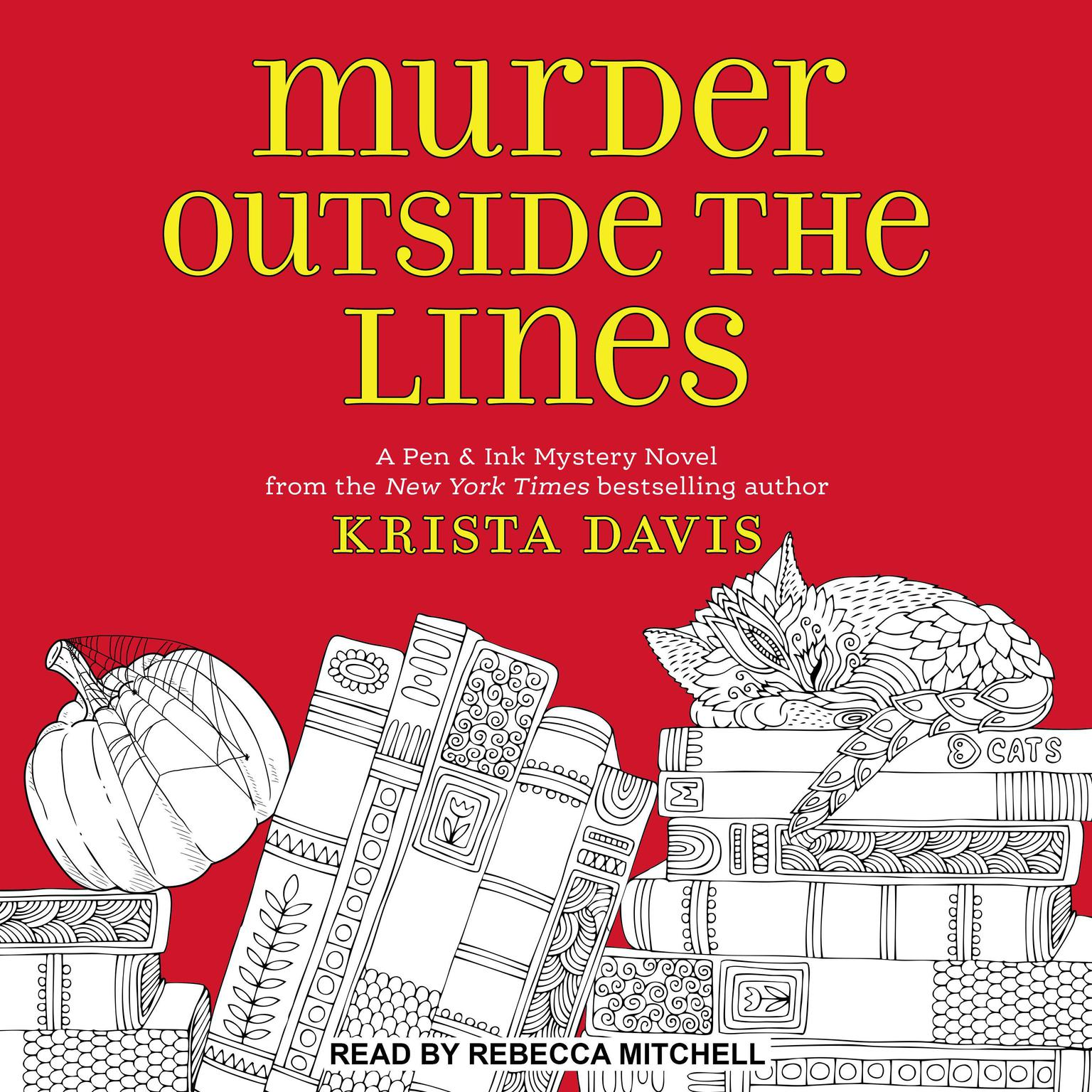 Murder Outside the Lines Audiobook, by Krista Davis