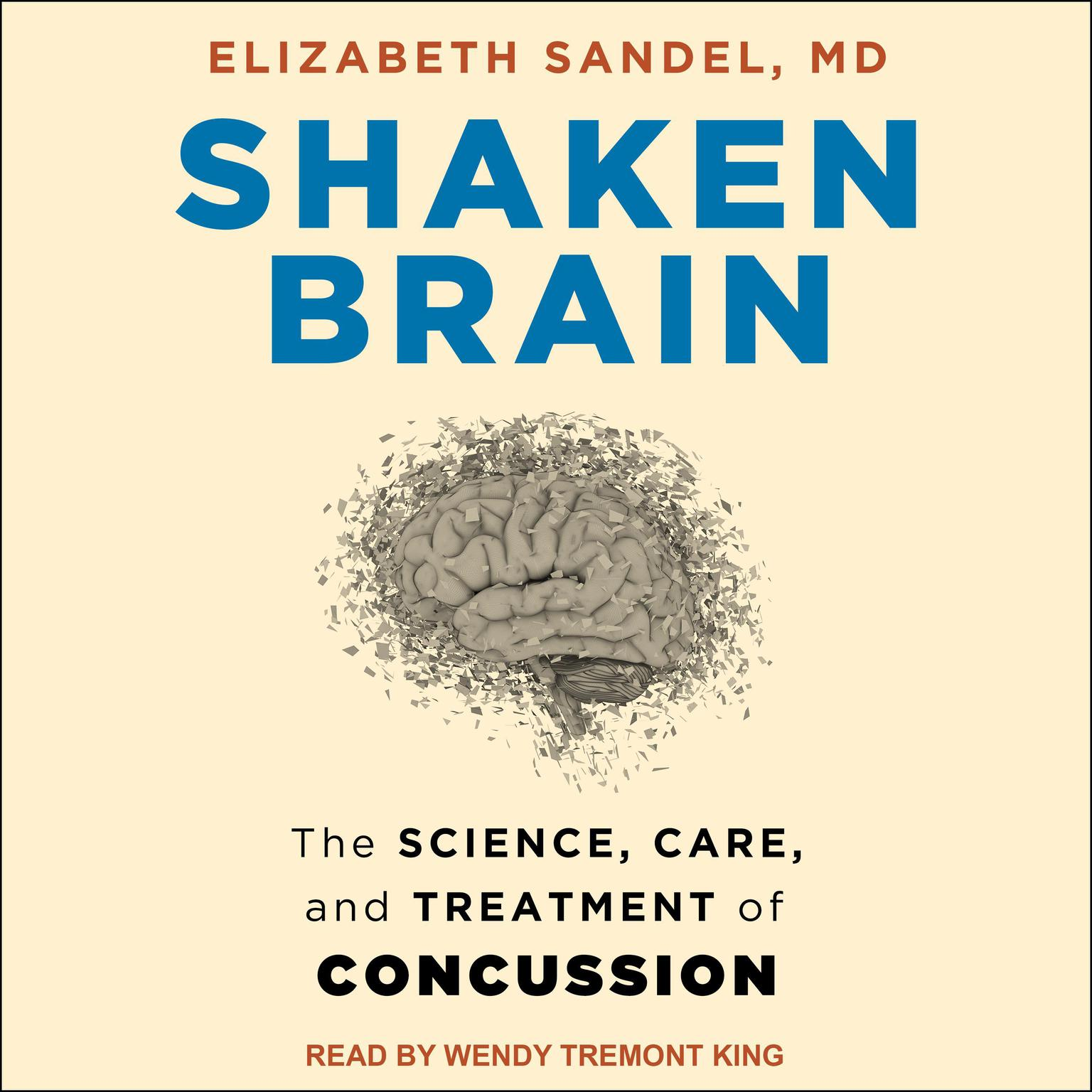 Printable Shaken Brain: The Science, Care, and Treatment of Concussion Audiobook Cover Art