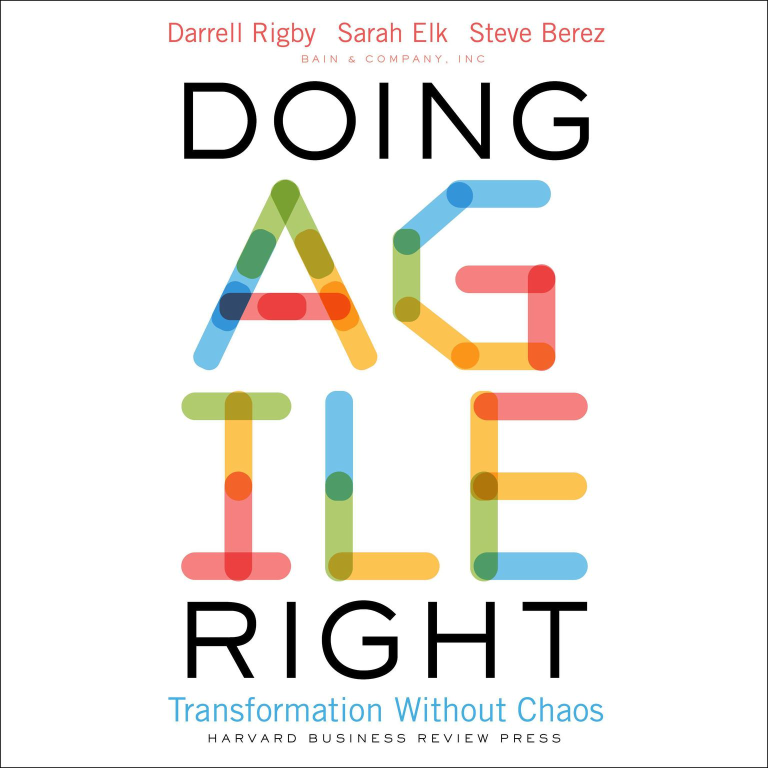 Printable Doing Agile Right: Transformation Without Chaos Audiobook Cover Art